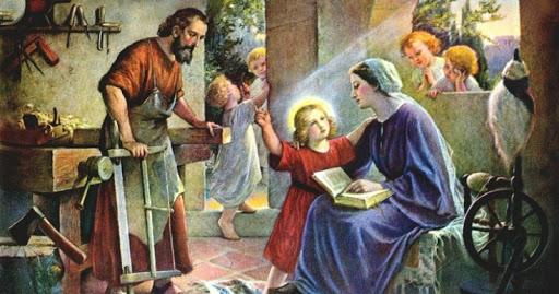 KELUARGA KUDUS NASARET TELADAN UTAMA PENDIDIK KRISTIANI
